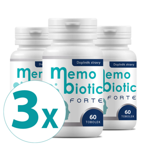 Memobiotic Forte 180 kapslí