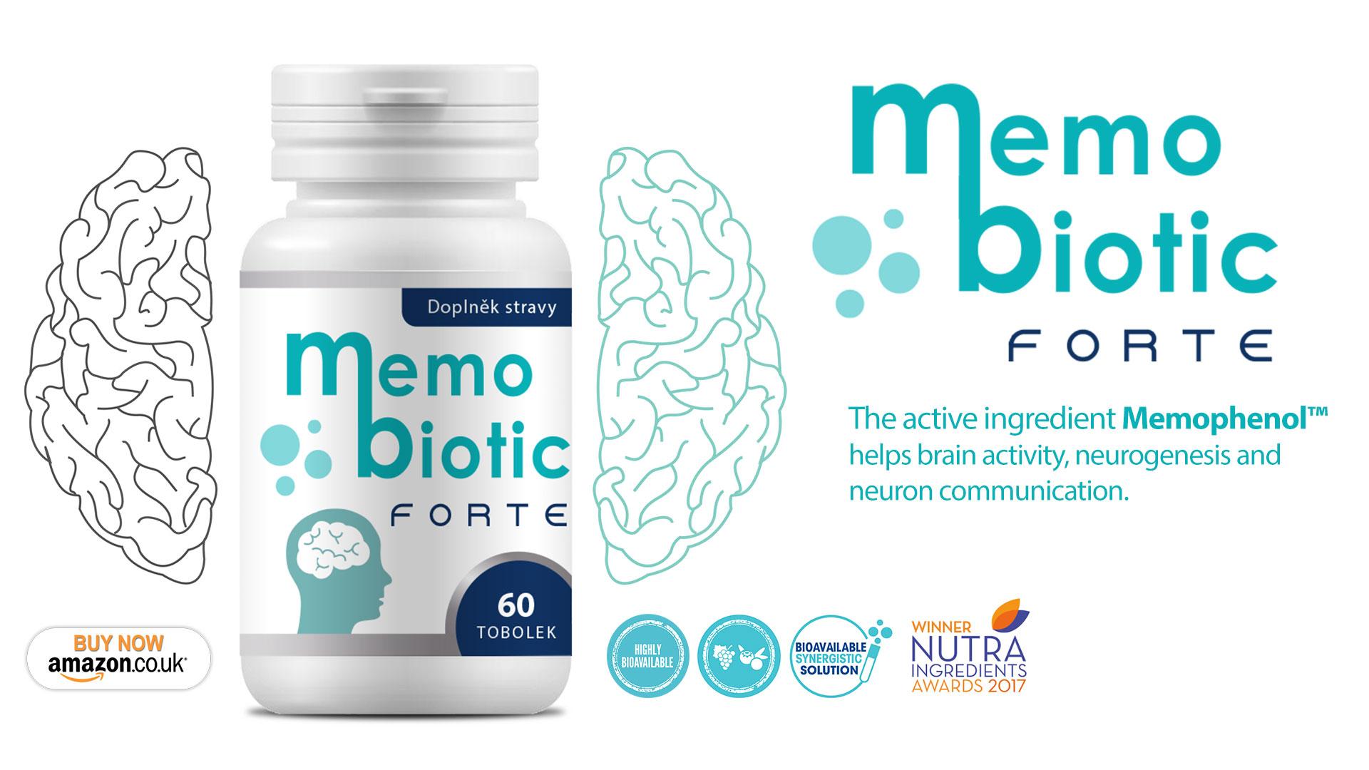 Memobiotic Forte - nootropics, brain supplement